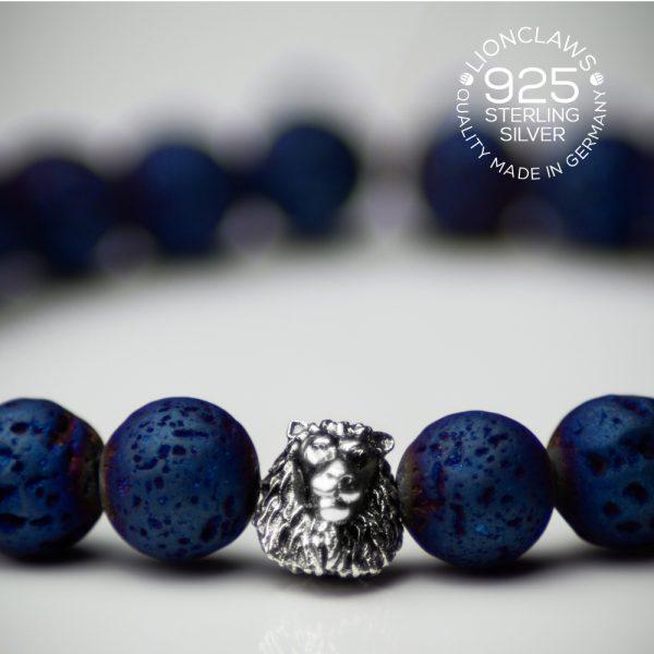 lionclaws-blue-electro-lava-löwenarmband-8mm-closeup