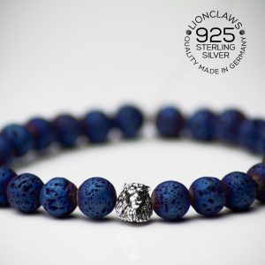 lionclaws-blue-electro-lava-löwenarmband-8mm