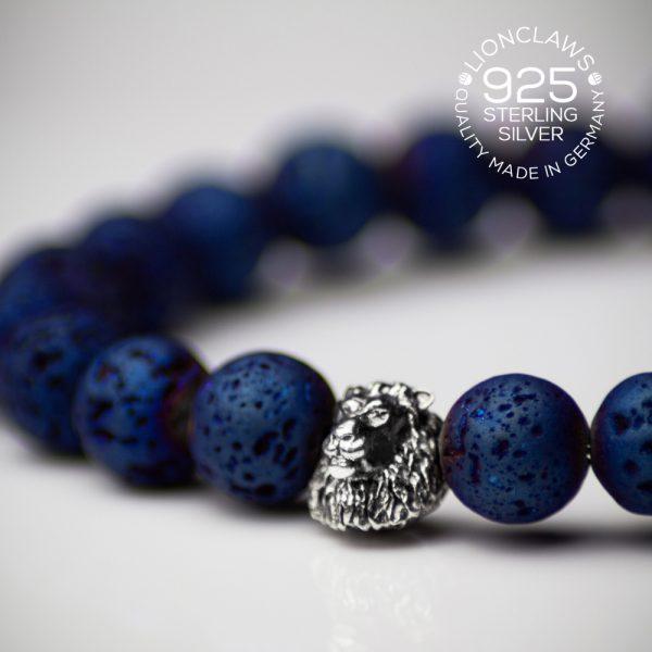lionclaws-blue-electro-lava-löwenarmband-8mm-seitenansicht