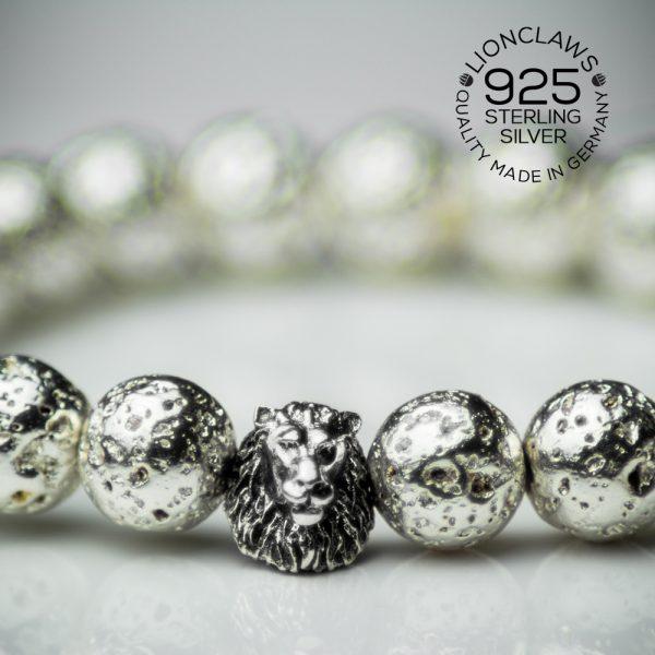 lionclaws-silver-electro-lava-löwenarmband-8mm-closeup