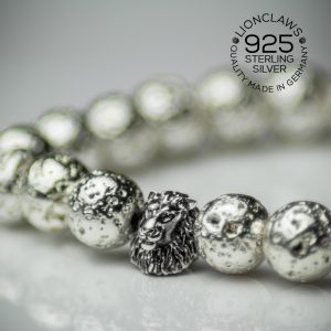 lionclaws-silver-electro-lava-löwenarmband-8mm-seitenansicht