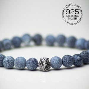 lionclaws-blue-thunder-löwenarmband-8mm