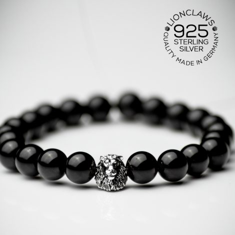lionclaws-obsidian-löwnearmband-8mm