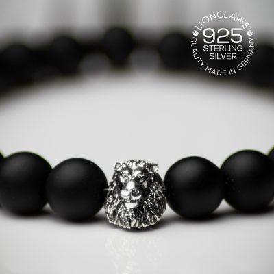 lionclaws-dull-obsidian-löwenarmband-8mm-closeup
